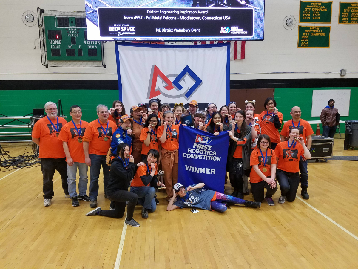 Waterbury 2019 Team Win Photo